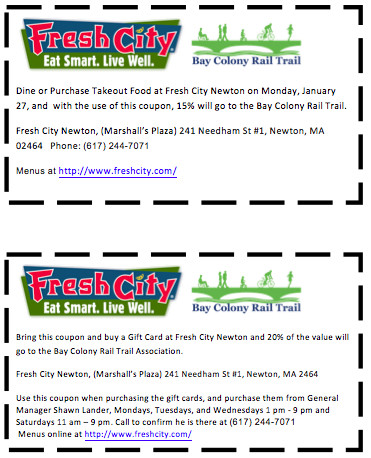 Fresh City coupons
